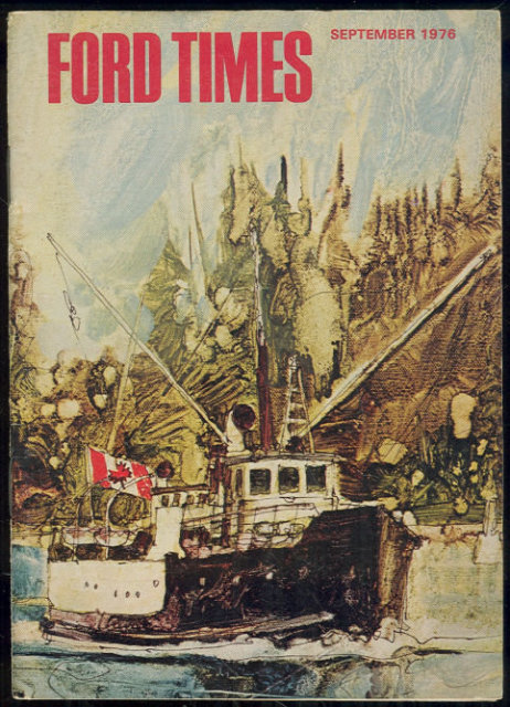 Ford Times Magazine September 1976 Vancouver West Coast