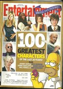 Entertainment Weekly Magazine June 4/11 2010 Characters