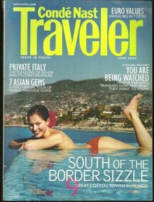 Conde Nast Traveler Magazine June 2004 Mexico Coastline