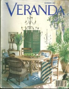 Veranda Magazine Summer 1997 Gardens at Blerancourt