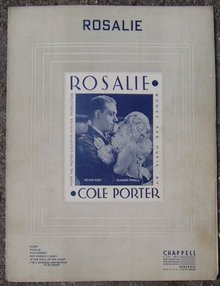 Rosalie starring Nelson Eddy and Eleanor Powell 1937