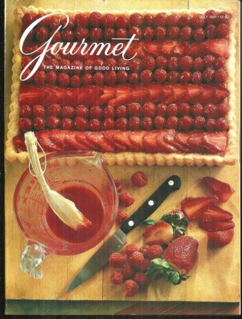 Gourmet Magazine July 1991 Summer Cocktails