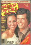Soap Opera Digest July 24, 1979 Erica and Tom AMC Cover