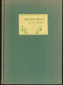Sycamore Square and Other Verses by Jan Struther 1st ed