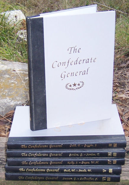 Confederate General Six Volume Set edited by Davis 1991