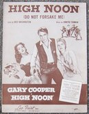 High Noon (Do Not Forsake Me) Gary Cooper 1952 Music