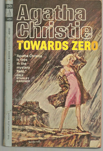Towards Zero by Agatha Christie 1963 Mystery Paperback