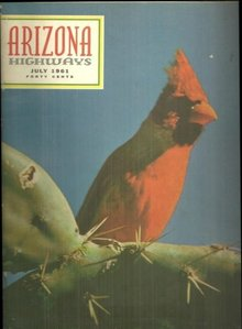 Arizona Highways Magazine July 1961 George Catlin