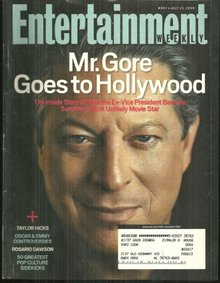Entertainment Weekly Magazine July 21, 2006 Al Gore