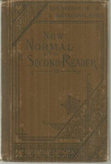 New Normal Second Reader by Albert Raub 1878 School Bk