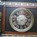 French Bronze Statue Clock, Circa 1870