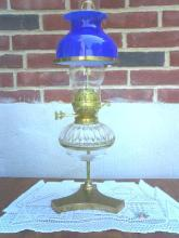 English oil lamp