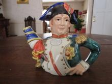Fitz & Floyd Napoleon Teapot collection series