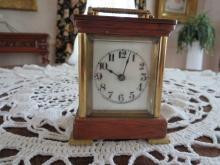Waterbury carriage clock, 30 hour