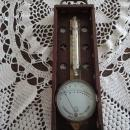 Lambrecht Thermo-Hygrometer in Box, Circa 1890