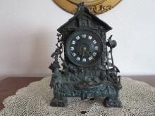 Unusual French Clock, Circa 1860