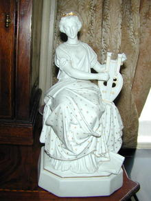SEVRES WOMAN AND LYRE PARIAN