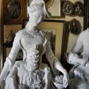Pr. Meissen Marcolini Large Figures of Beau and Lady