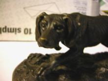 Bronze Dog by Mene Circa 1870