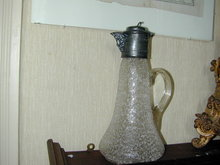 Old Pewter Claret and Glass Russian?