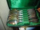 Set of Sterling  Silver Teaspoons 1814