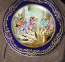 Magnificent Sevres Painted Plate 1757?