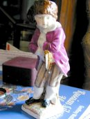 Boy Skater Meissen Quality 19th Century