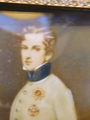 Miniature Portrait of the King of Rome. c.1830