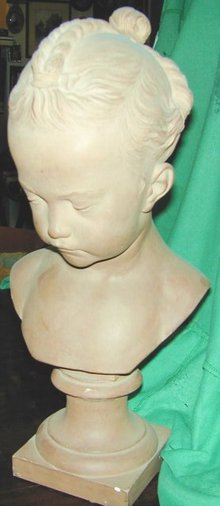 Terracota Bust after Jacques Saly