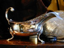 George III Sterling Silver Sauceboat 1779
