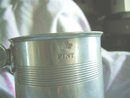 Early Victorian Pewter Pint Mug 1841