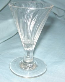 Late 18th Century Georgian Crystal Port Glass