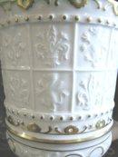 Antique Ginori (Capo di Monte) Covered Urn