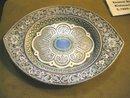 Imperial Russian Enamel Dish by Kizmechev