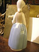 Rex by Lladro Girl with Bundle