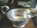 English Sterling Silver Sauceboat