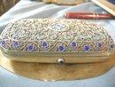 Imperial Russian Enamel Cigarette Case: Adler