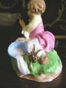 Worcester Figurine of Miss Muffet