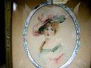 Wonderful Late Victorian Miniature Portrait
