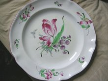 Huge French Antique Platter (Luneville)