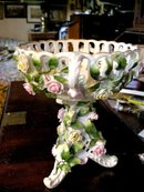 Meissen Pattern Reticulated Bowl