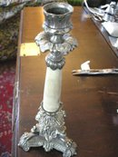 Antique Imperial Russian Tula Candlestick