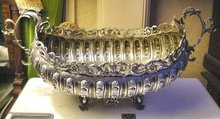 Silver Art Nouveau Spanish Centre-Piece Bowl