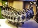 Silver Art Nouveau Spanish Centre-Piece Bowl