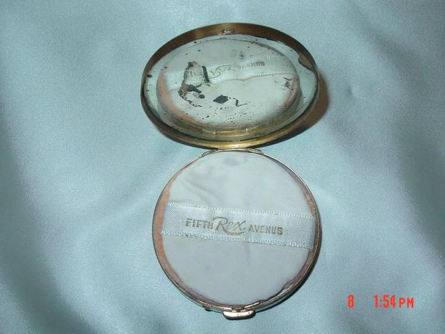 Vintage Rex Fifth Avenue Powder Compact