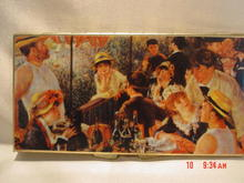 Mirror Compact with The Luncheon of the Boating Party Scene by Renoir