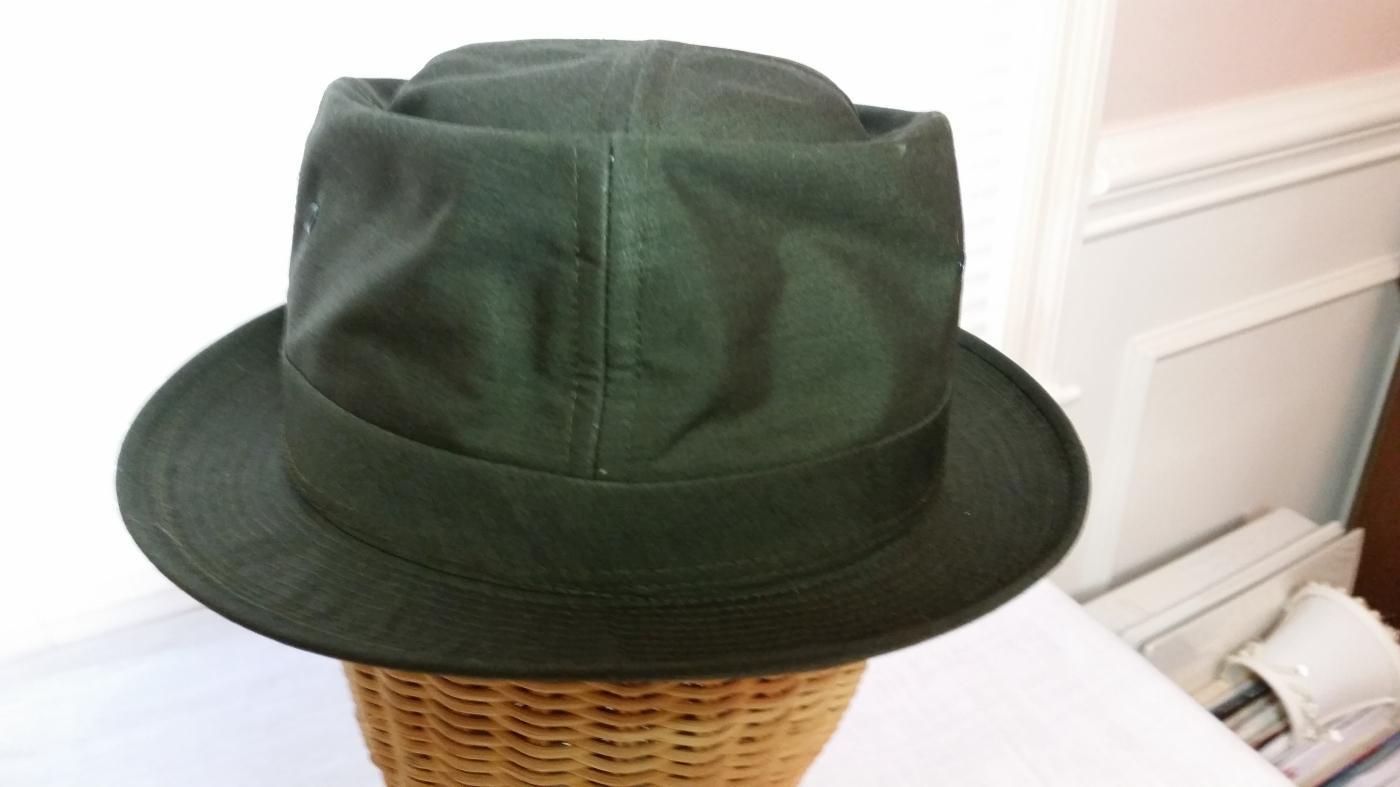 Men's Olive Green London Fog Bucket Style Weather Hat