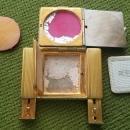 LaMode Guilloche  Powder Rouge Lipstick Compact 1938