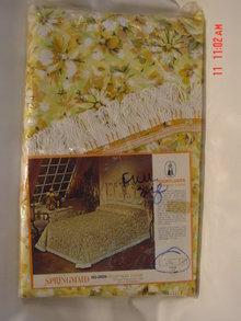 Vintage 1960's Springmaid Moonflower Bedspread