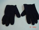 Vintage Navy Blue Cotton Wear Right Gloves Size 7